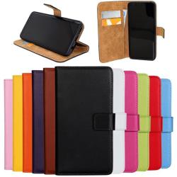Samsung Note8/Samsung Note9/Samsung J6 plånbok skal fodral kort: Orange Samsung Galaxy J6