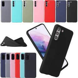 Silikon TPU skal Samsung S21/S20/S20FE Ultra/Plus fodral vit - Vit S20 Ultra Galaxy Samsung