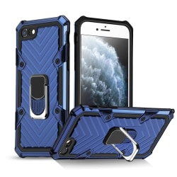 Stöttåligt Hybrid Ring skal iPhone 7/8/SE (2020) Blå Blue iPhone 7/8/SE