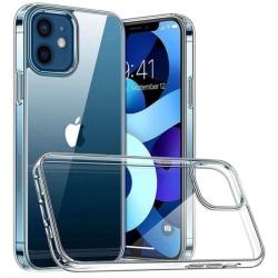 Transparent Skal Extra förstärkt silikon iPhone 12/12 Pro Transparent iPhone 12/12 Pro