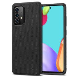Stötdämpande Silikon Skal Galaxy A52 Svart Black Samsung Galaxy A52