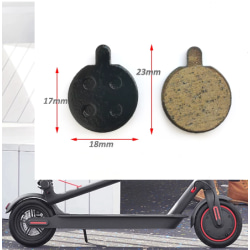 2st Brake Pads Bromsbelägg för elscooter/cykel