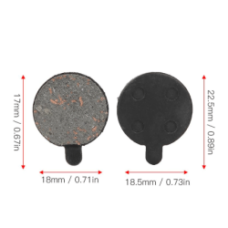 2st Xiaomi Mi M365/Pro Brake Pads Bromsbelägg