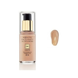 Max Factor Facefinity 3 In 1 Foundation 65 Rose Beige Transparent