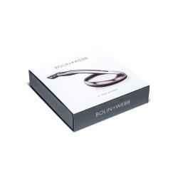 Giftset Bolin Webb Razor X1 Argent Black & Stand Transparent