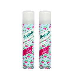 2-pack Batiste Dry Shampoo Cherry 200ml Transparent