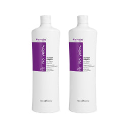 2-pack Fanola No Yellow Shampoo 1000ml Transparent