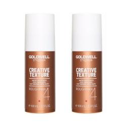 2-pack Goldwell Stylesign Roughman Matte Cream Paste 100ml Guld