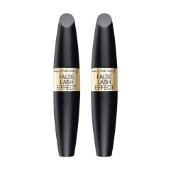 2-pack Max Factor False Lash Effect Mascara Black 13,1ml Svart