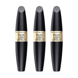 3-pack Max Factor False Lash Effect Mascara Black 13,1ml Svart