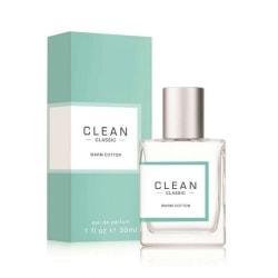 Clean Classic Warm Cotton Edp 30ml Transparent