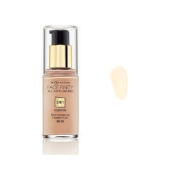 Max Factor Facefinity 3 In 1 Foundation 30 Porcelain Transparent