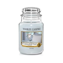 Yankee Candle Classic Large A Calm & Quiet Place 623g grå