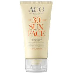ACO Sun Face Cream Spf 30 50ml Transparent
