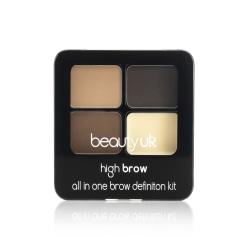 Beauty UK Eyebrow Kit Brun