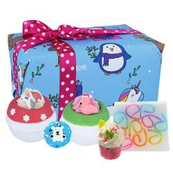 Bomb Cosmetics Crazy Christmas Gift Box Transparent