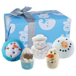 Bomb Cosmetics Mr Frosty Gift Box Transparent