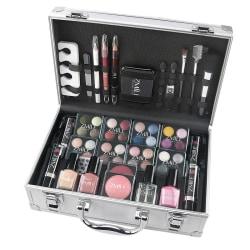 Zmile Cosmetics Makeup Box French Manicure Silver