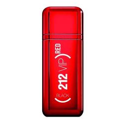 Carolina Herrera 212 VIP Black Red for Men Edp 100ml Silver