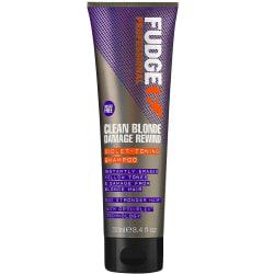 Fudge Clean Blonde Damage Rewind Violet Shampoo 250ml Transparent