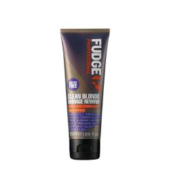 Fudge Clean Blonde Damage Rewind Violet Shampoo 50ml Svart