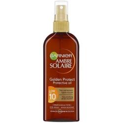 Garnier Ambre Solaire Golden Protect Sun Oil SPF10 150ml Brun