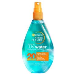 Garnier Ambre Solaire UV Water Transparent Protecting Spray SPF2 Turkos