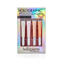Giftset Bellapierre Holographic Lip Gloss Quad multifärg