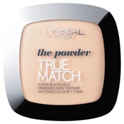 LOreal True Match Powder 1R/1C Rose Ivory 9g Transparent