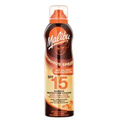 Malibu Continuous Dry Oil Spray SPF15 175ml Transparent