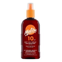 Malibu Dry Oil Spray SPF10 200ml Transparent
