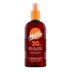 Malibu Dry Oil Spray SPF20 200ml Transparent
