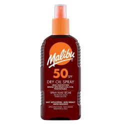 Malibu Dry Oil Spray SPF50 200ml Transparent