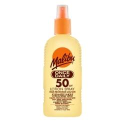Malibu Once Daily Lotion Spray SPF50 200ml Vit