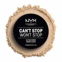NYX PROF. MAKEUP Can't Stop Won't Stop Setting Powder - Light/Me Transparent