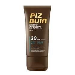 Piz Buin Hydro Infusion Sun Gel Cream Face SPF30 50ml Brun
