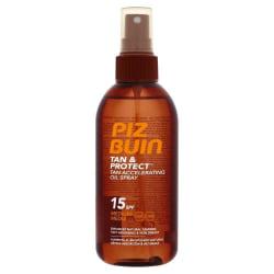 Piz Buin Tan & Protect Tan Accelerating Oil Spray SPF15 150ml Brun