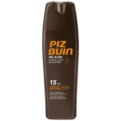 Piz Buin Ultra Light Sun Spray SPF 15 200ml Transparent