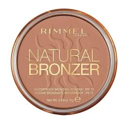 Rimmel London Natural Bronzer - 021 Sun Light 14g  Beige