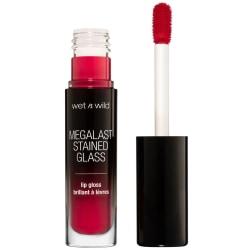 Wet n Wild Megalast Stained Glass Lip Gloss - Heart Shattering  Röd