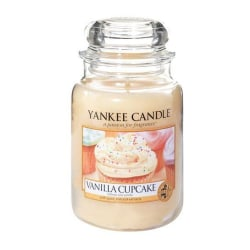Yankee Candle Classic Large Jar Vanilla Cupcake 623g Beige