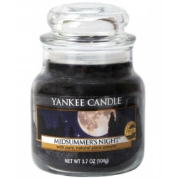 Yankee Candle Classic Small Jar Midsummer Night Candle 104g Svart