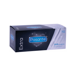 Pasante Extra: Kondomer, 144-pack Transparent