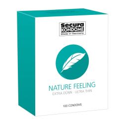 Secura: Nature Feeling, Kondomer, 100-pack Transparent