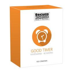 Secura: Good Timer, Kondomer, 100-pack Transparent