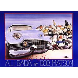 Auto Visions Poster Edition - Ali Baba by Bob Matson, 50x70 cm