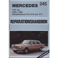 MERCEDES DIESEL 200, 220, 240, 240 3.0 & 300 Typ 123 1976-1985