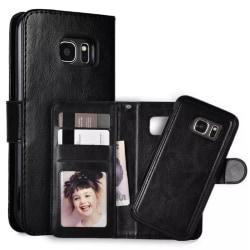 Samsung Galaxy S9 Fodral Plånbok Magnetskal Svart Svart