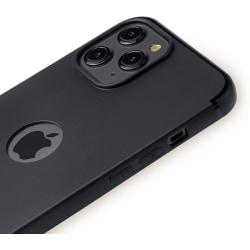 Iphone 12 / 12 Pro Mattsvart Skal Svart