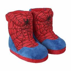 Spindelmannen Mysiga Tofflor Blå/Röd 28-29